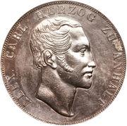 2 Thaler / 3½ gulden - Alexander Carl – avers
