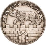 1 ducat Alexius Friedrich Christian (Ausbeute Harzgold-Dukat, essai en argent) – avers