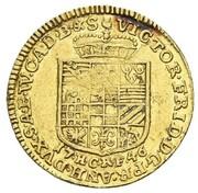 1 ducat Victor Friedrich – avers