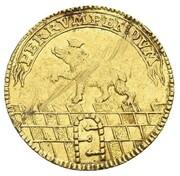 1 ducat Victor Friedrich – revers