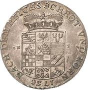 1 Thaler - Viktor II Friedrich – revers