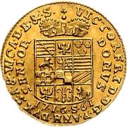 1 Ducat - Viktor Friedrich II – revers