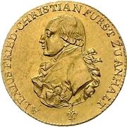 5 Thaler - Alexius Friedrich Christian – avers