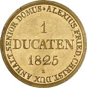 1 Ducat - Alexius Friedrich Christian (Ausbeute Harzgold-Dukat) – avers
