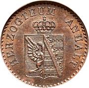 1 Pfennig - Alexander Carl – avers
