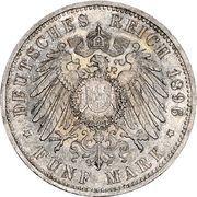 5 mark Friedrich I – revers