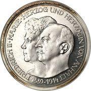 5 mark Friedrich II – avers