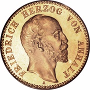 10 mark Friedrich I – avers