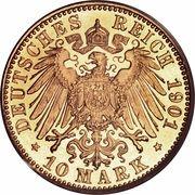 10 mark Friedrich I – revers