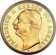 20 mark Friedrich II – avers