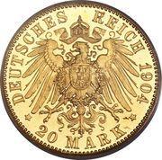 20 mark Friedrich II – revers