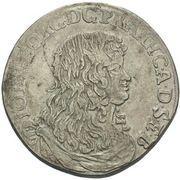 ⅔ Thaler - Johann Georg II – avers
