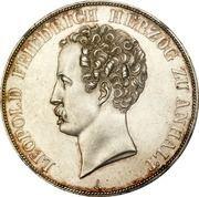 2 taler / 3½ gulden Leopold Friedrich – avers