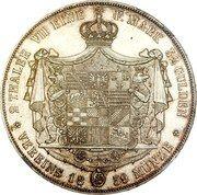 2 taler / 3½ gulden Leopold Friedrich – revers
