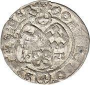 4 groschen - Johann Casimir – revers