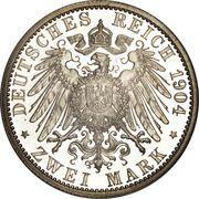 2 mark Frederick II – revers