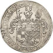 1 thaler Johann Casimir (Mort) – avers