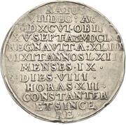 1 thaler Johann Casimir (Mort) – revers