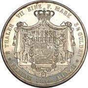 2 Taler / 3½ gulden - Heinrich – revers