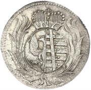 6 pfennig August Ludwig – avers
