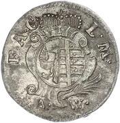 3 pfennig August Ludwig – avers