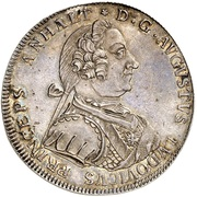 1 thaler August Ludwig – avers