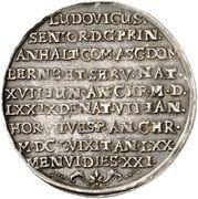 ½ thaler Ludwig (Mort) – revers