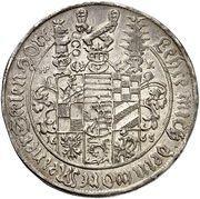 1 thaler Wilhelm Ludwig (Mort) – avers