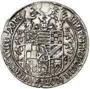 ⅛ thaler Wilhelm Ludwig (Mort) – avers