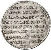⅛ thaler Wilhelm Ludwig (Mort) – revers