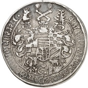 1 thaler Ludwig (Mort) – avers