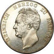 2 Taler / 3½ gulden - Heinrich – avers