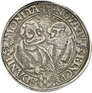 1 Ausbeutethaler - Wolfgang, Johann IV., Georg III. et Joachim I. (Harzgerode) – revers