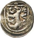 1 Pfennig - Woldemar VI., Ernst, Rudolf, Sigmung III. and Georg II. – avers