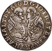 ½ Thaler - Joachim II Ernst and Bernhard VII – avers