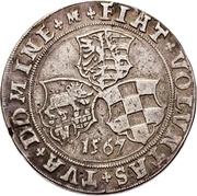 ½ Thaler - Joachim II Ernst and Bernhard VII – revers