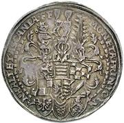1 Thaler - Johann Georg I, Christian I, Bernhard VIII, August, Rudolf, Johann Ernst and Ludwig – avers
