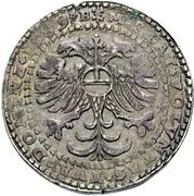 1 Thaler - Johann Georg I, Christian I, Bernhard VIII, August, Rudolf, Johann Ernst and Ludwig – revers