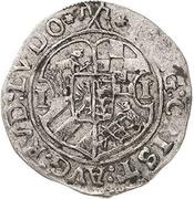 1 Groschen - Johann Georg I., Christian I., August, Rudolf and Ludwig – avers