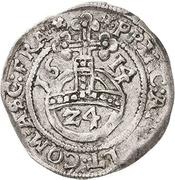 1 Groschen - Johann Georg I., Christian I., August, Rudolf and Ludwig – revers