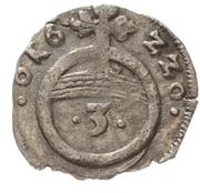 1 Dreier - Christian I., August, Ludwig, Johann Casimir  and Georg Albert – revers