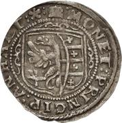12 Kreuzer Christian I., August, Rudolf and Ludwig (Kipper) – avers