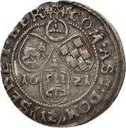 12 Kreuzer Christian I., August, Rudolf and Ludwig (Kipper) – revers