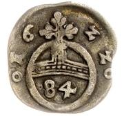 1 Dreier - Christian I., Augustus, Ludwig, Johann Casimir, Georg Aribert and Johann (Kipper – revers