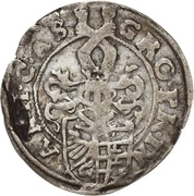 1 Groschen - Christian I., August, Ludwig, Johann Casimir, Georg Aribert and Johann – avers