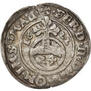 1 Groschen - Christian I., August, Ludwig, Johann Casimir, Georg Aribert and Johann – revers