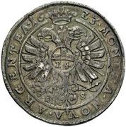 1 Thaler - Christian I. von Bernburg, August von Plötzkau, Ludwig von Köthen and their nefews – revers