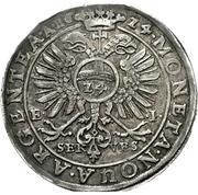 1 Thaler - Christian I., August, Ludwig, Johann Casimir and Georg Aribert – revers