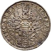 2 Thaler - Christian I., August, Ludwig, Johann Casimir and Georg Aribert – avers
