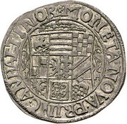 8 Gute Groschen - Johann Georg II., Victor Amadeus, Wilhelm, Carl Wilhelm and Emanuel Lebrecht – avers